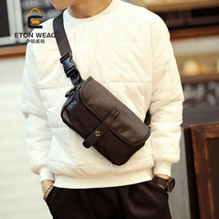 The original new trend of Korean new male chest pack pockets male bag all-match casual male fashion mobile phone bag bag