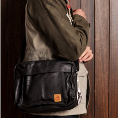 Hongkong purchasing Japanese retro new single shoulder bag fold old Japan retro shoulder bag bag bag chest
