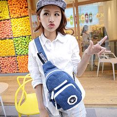 Men s casual chest pack Bag Canvas Shoulder Bag Satchel male female bag purse sports bag luggage ride the tide