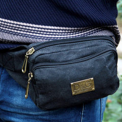 Men's pockets, chest bags, sports pockets, casual pockets, mobile phone bags, canvas men's bags, tide women's small bags
