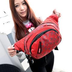 Hot new men's pockets of outdoor leisure multifunctional bag Korean women sports backpack cashier Wallet