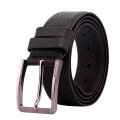 Crocodile leather belt Mens New Men's business casual leather buckle belt brown snake