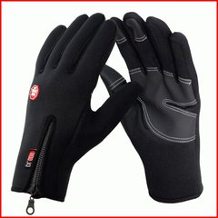 Riding gloves, men and women refers to winter outdoor climbing, windproof, waterproof, cold, warm, fleece, touch screen gloves