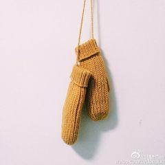 [shop] a miscellaneous original design style hand knitted woolen gloves Taka sand art gift Sen Department