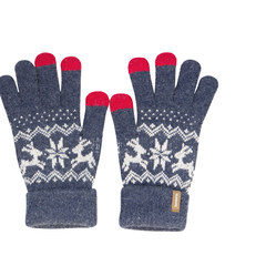 TAYOHYA Tayohy happy song, touch screen jacquard gloves, fingers refers to men and women warm