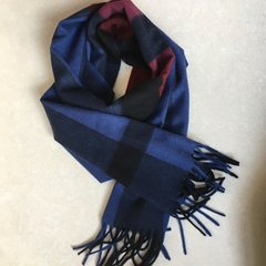 Wool and cashmere Unisex Long Double scarf fashion classic Plaid all-match NEW