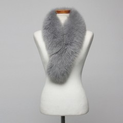South Korea imported all-match fox fur scarf fox fur collar fur scarf long clip section Qiu dongkuan