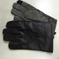 Japanese finger touch screen men's sheepskin gloves