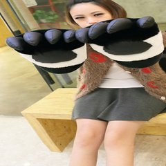 Love apartment with a panda panda claw claw paw gloves sekitani Boxing Gloves Large Plush Bear gifts Large pair