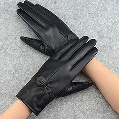 Haining leather gloves, men and women, couples, sheep leather gloves, winter fashion warm thickening Silvereagle ladies leather gloves