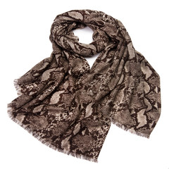 Autumn and winter fashion sexy cashmere wool blended elegant Wool Shawl villi snake scarf Snake fur