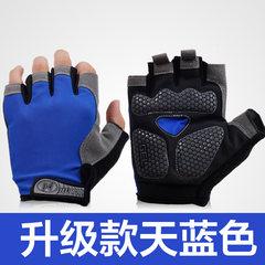 Half finger glove, men's summer sun protection gloves, half slip, no fingers, missing fingers.
