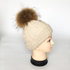 Knitted hats, winter children warm hats, wool hats, cute wool cap, children's hats, new explosive Adjustable
