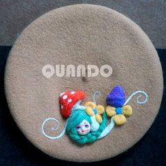 Quando illusion original wool LS custom doll Beret