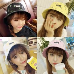 New Korean fashion trends, snacks, leisure pots, hats, lovers, soft girls, male and female students, Japanese sun hat, fisherman's cap Adjustable