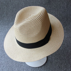 Fashionable fashion, beautiful hat, fashionable fashion, beautiful hat, fashionable summer vacation, tourist hat, ladies` dayan beach shade, sunshade, straw hat, cool hat, M (56-58cm)