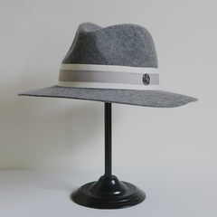 [Shang domain] summer winter M, M, new clip grey wool, sun hat, sun hat, handsome hat M (56-58cm) Folder Grey