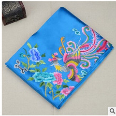 Shipping Phoenix fine handmade embroidery embroidery embroidery, silk shawl scarf dress accessories business gifts
