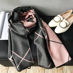 Ancient embroidery 2017 winter handmade cashmere scarf embroidery embroidery double-sided embroidery embroidery ladies scarf