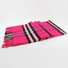 Scarf winter pure color big shawl, long men's lovers, winter and autumn thickening tide Bage Roseo