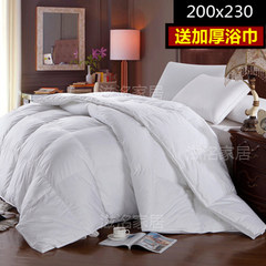 Spring and autumn and exported to Europe and the United States five star hotel 95 white goose down duvet double down by the shipping 200x230cm +1 yuan, buy export towels