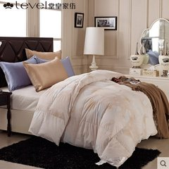 Hall of the Royal White Feather core spun thick warm winter was the single double Quilt Duvet warm home Qin 200X230cm