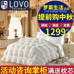 Carolina textile LoVo life genuine winter quilt quilt core duvet Reykjavik stereo down by the fourth generation 200X230cm