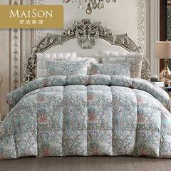 Mengjie genuine Meisong textile MAISON Mousika CLS 90% white eiderdown duvet and thick quilt core 200X230cm