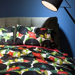 And the wind long staple cotton four piece Cotton Retro black cotton sheets fitted high-end bedding Felipe Massa 1.5m (5 feet) bed