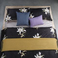 American luxury villa model 100 long cashmere island cotton four piece cotton satin four piece Mia 2 1.5m (5 feet) bed