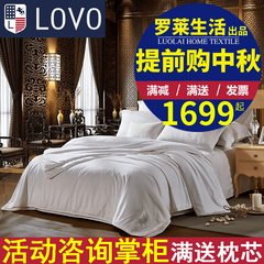 Carolina textile LoVo cotton satin silk sheets are composite combo double is the core of winter was thickened 200X230cm