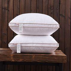 95% Genuine White Goose full velvet pillows pillow five star hotel velvet pillow single feather pillow, slow rebound