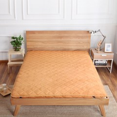 1.5m 1.8m foldable bed mattress thick sponge cushion bed mattress mattress on the tatami bed lazy Thick moistureproof camel -10cm 1.2x2 bed