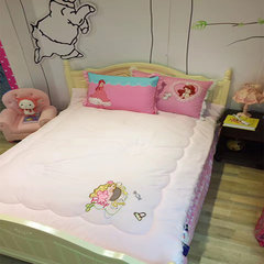 Export safety and environmental protection cotton children in autumn and winter was the core antibacterial anti mite seven fiber girl single bed quilt 200X230cm Little girl