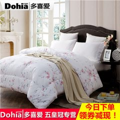 Autumn is like cotton quilt core Yuhua dream 1.2 meters 1.5m1.8 meters have been double bed 229x230cm Playful cartoon Paradise (New)