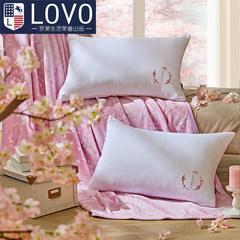 LOVO Carolina textile pillow life produced single peach III. the pillow pillow pillow Peach blossom pillow of Sansheng III