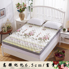 Memory sponge pad mattress folding double 1.5m1.8 meters thick tatami mattress to pave the way Rich people 6.5cm [no deformation] 0.9*1.9 meter bed
