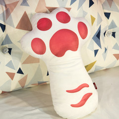 Every day special offer students creative pillow sofa cushion simulation dog pillow washable cartoon nap pillow cushion Cat paw