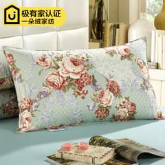 A red velvet cotton satin duvet pillow 90% white goose down pillow pillow genuine Double five-star hotel Luo Manzhi love