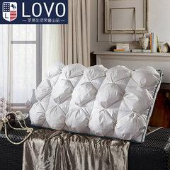 Lovo Carolina textile life cervical pillow inner neck pillow produced single bread type latex feather pillow Pierre bread type latex feather pillow