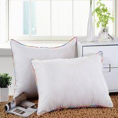 记忆枕 慢回弹定型枕保健枕 羽绒枕枕头枕芯护颈枕 彩边全棉枕(单个价格)