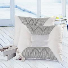 记忆枕 慢回弹定型枕保健枕 羽绒枕枕头枕芯护颈枕 W磁疗枕(单个的价格)