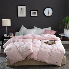 Wash quilt core quilt, winter is thickened air conditioning, students warm single bed, double cotton, autumn was 6 Jin 8 quilts 220X240 (8 kg winter quilt) (Qiu Tianjun)