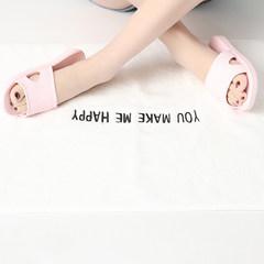 Summer bath slippers men and women home Korean version, indoor anti slip thick bottom, lovers home bath plastic slippers 320mm (for 47-48 feet wear) gray