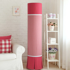 As for the GREE I wisdom beauty series Haier Kelon platinum Iku yarn dyed Plaid circular cylindrical Guiji air conditioning cover Carmine small round hood cabinet Pleasing to the eye, the 181 highest