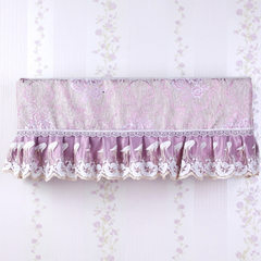The cloth hanging air conditioner cover household bedroom full set of air conditioning creative lace hanging type air conditioner cover dust cover Fuguizi
