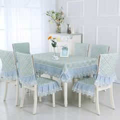 European table cloth, chair covers, cushions, cushions, cushions, cushions, cushions, sets, modern furniture, chairs, sets, tea tables, tablecloths, rectangular, auspicious, green 80*80cm