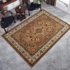 Gentlemen, dog, classic flower, living room, sofa, carpet, tea table, blanket, bedroom, bedside blanket, cloakroom, blanket 4086 40× 60CM 4086BE Camel