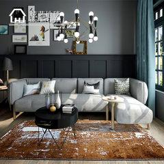 北欧地毯客厅简约现代茶几垫子沙发卧室床边毯家用图案个性艺术毯 1600MM×2300MM