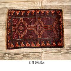 ANGOLINO Pakistan 100% woollen handmade mat mat, door mat, small size blanket, decorative blanket, handmade mat, 148 100x52